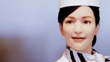 Yumeko robot checks in guests at Japan's Henn na Hotel. Image credit: Henn na Hotel