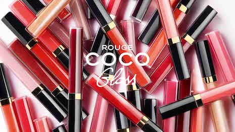 Chanel's Rouge Coco Gloss collection