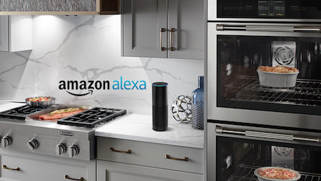 Jenn-Air Connected Wall Oven controlled by Amazon's Alexa