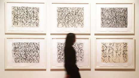 "Brice Marden's ""Cold Mountain Series, Zen Study 1-6"" was included in Sotheby's March 2 auction"