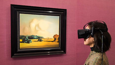 Sotheby's Masters of Surrealism exhibit, photo by Ian Gavan