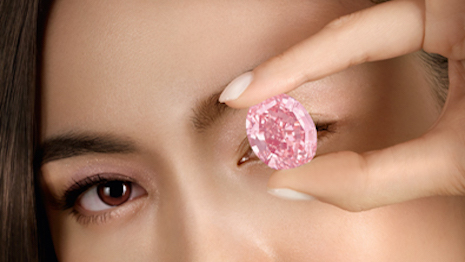 The Pink Star diamond