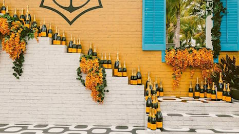 Image courtesy of LVMH-owned Veuve Clicquot