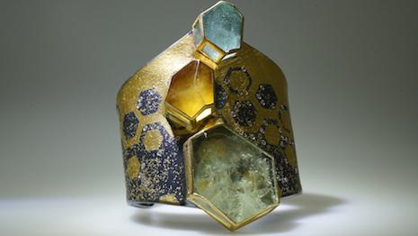 Atelier Zobel honeycomb bracelet