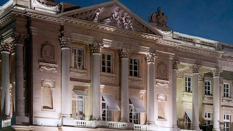 Hôtel de Crillon in Paris is currently undergoing renovations