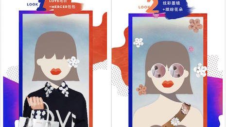 Michael Kors has partnered with photo-sharing app Faceu to host a video competition on WeChat