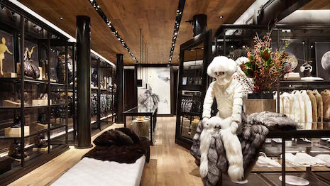 Moncler store: Where experience is also the product. Image credits: Moncler