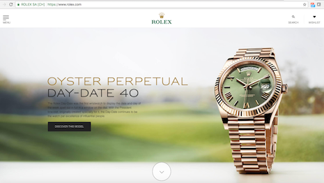 Rolex.com is the most popular watch brand Web site, aided by masterful search engine optimization