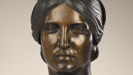 Henry Kirke Brown's La Grazia sculpture, modeled in 1844 and cast in 1850. Smithsonian American Art Museum, gift of Henry Kirke Bush-Brown