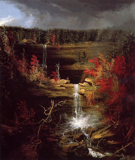 Thomas Cole's rendering of Kaaterskills Falls, number 2