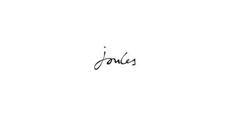 The Joules trademark. Image courtesy of Milton Springut