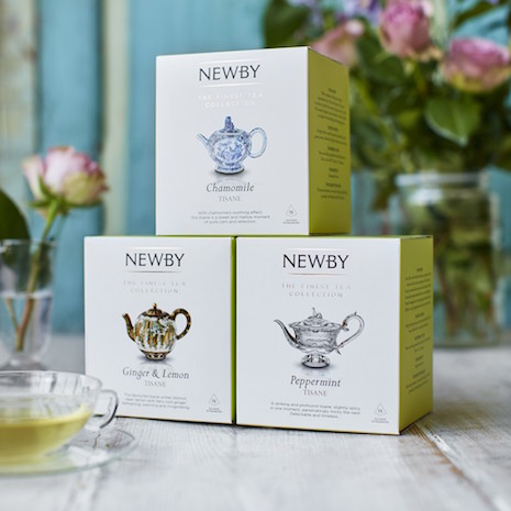 Newby Teas' Silken Collection