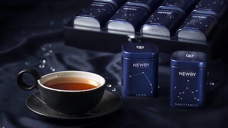 Newby Teas' Zodiac Collection, introduced in 2014. Image credit: Newby Teas