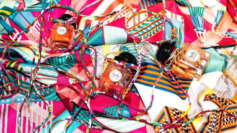 Scents and sensibility: The new Twilly d'Hermès perfume. Image credit: Hermès Instagram