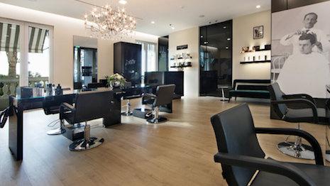 Rossano Ferretti hair salon in Hotel de Paris, Monaco