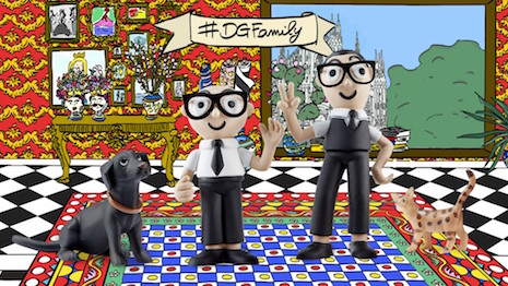 #DGToys: Dolce & Gabbana show luxury brands the way to be creative in product and presentation. Image credit: Dolce & Gabbana