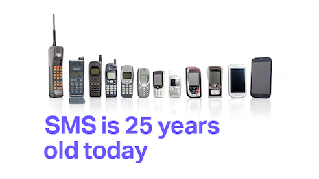 SMS turns 25