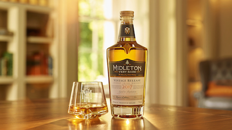 Pernod Ricard's Midleton Very Rare Irish Whiskey Vintage 2017. Price can range from $75,000 to $300,000 per cask depending on the vintage. Image credit: Pernod Ricard