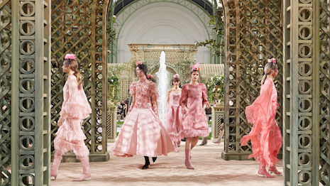 Chanel's recent fashion show. The fashion brand is highly protective of its distribution and sales channels, reflective of a desire to maintain the allure and mystique typically reserved for high-luxury brands. Image credit: Chanel