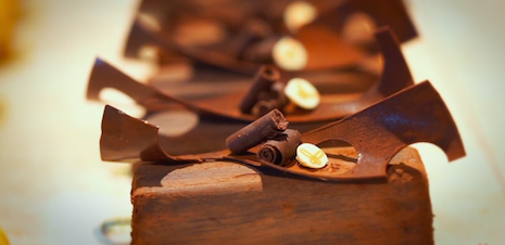 The chocolate is made by Coco Safar. Image credit: Coco Safar