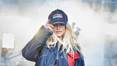 Britney Spears is the face of Kenzo's 50th anniversary line. Image credit: Kenzo