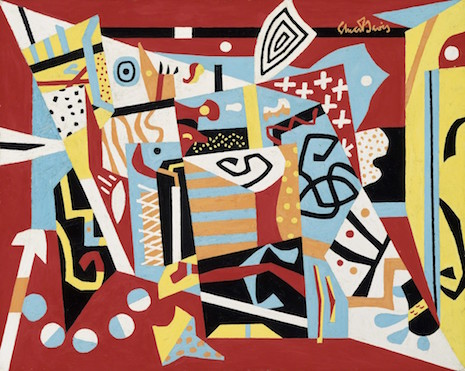 Stuart Davis, Report from Rockport, 1940. Oil on canvas, 24 x 30 in. The Metropolitan Museum of Art