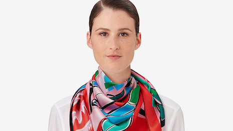 Face value and market value matter: Hermès' sea surf and fun scarf. Image credit: Hermès