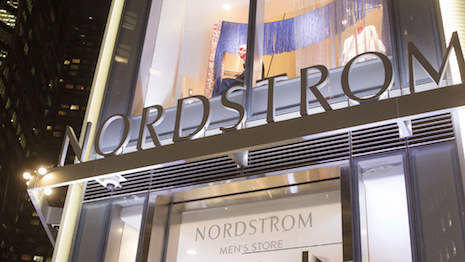 Facade of Nordstrom Men's Store in Columbus Circle, New York. Image credit: Nordstrom