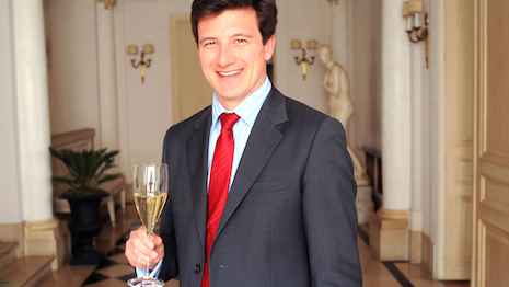 Pierre-Louis Araud, business development manager and global brand ambassador for Moët & Chandon, eyes Sub-Saharan and East Africa for the region's growing thirst for Champagne. Image courtesy of Moët & Chandon