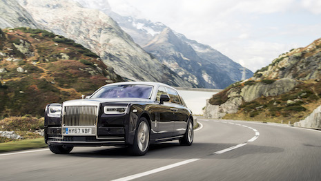 Rolls-Royce Phantom VIII. Photo: James Lipman/ jameslipman.com. Image courtesy of Rolls-Royce Motor Cars