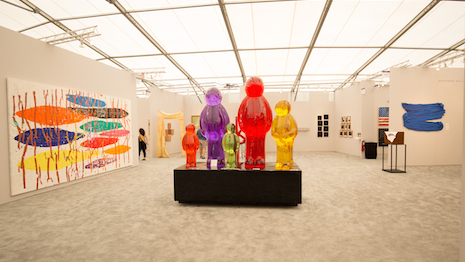 Art Basel exhibit. Image credit: Shutterstock
