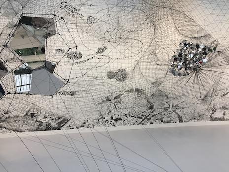 The Fiore Internationale d'Art Contemporain show in France. Image credit: Shutterstock