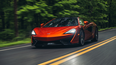 The McLaren 570GT: Fast car, fast growth