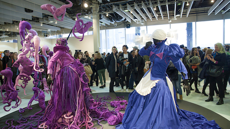 The Armory Show in New York. Image credit: Shutterstock