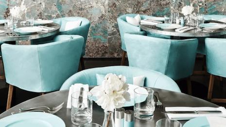 Tiffany Blue Box Cafe