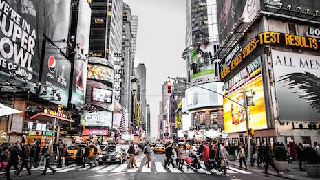New York's Times Square: Retail crossroads of the world. Image courtesy of Pam Danziger
