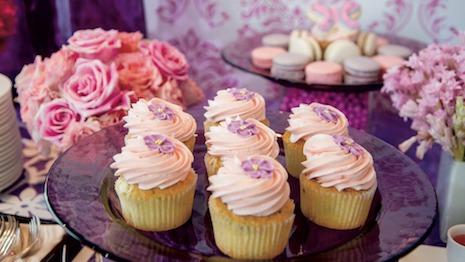 Ritz Carlton Pink Cupcakes