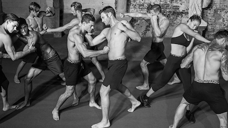 Putting up a good fight: Versace's Dylan Blue Pour Homme. Image credit: Versace