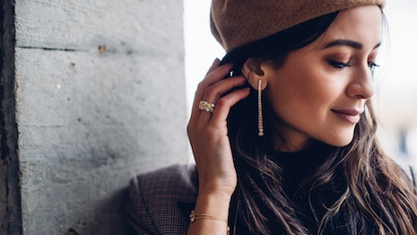 Influencer Anna Vitiello pitching Bucherer jewelry. Image credit: Anna Vitiello @annarvitiello