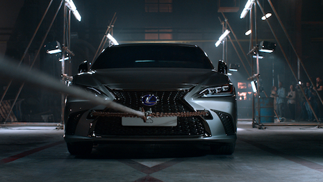 Lexus ES artificial intelligence
