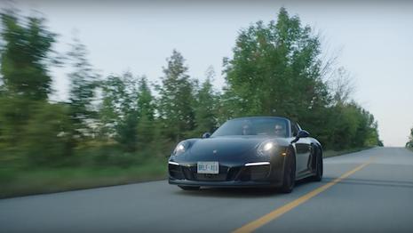 Porsche 911 Road Trip