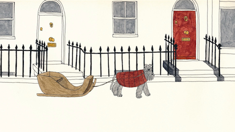 The Dog Sleigh - Mungo & Maud 1
