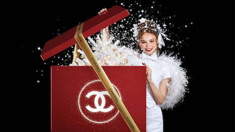 Chanel's holiday 2018 make-up campaign starring Lily-Rose Depp. Image credit: Chanel