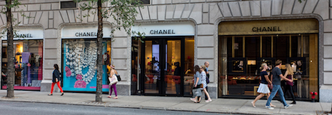 Chanel store on Madison Avenue in New York. Image credit: © Julienne Schaer