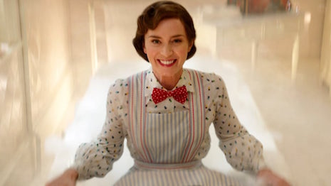 Emily Blunt is Mary Poppins. Image credit: Walt Disney Studios
