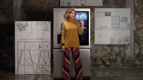 Uberta Zambeletti with LG SIGNATURE Refrigerator