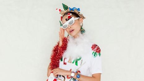 Dolce&Gabbana's Christmas 2018 eyewear. Image credit: Dolce&Gabbana