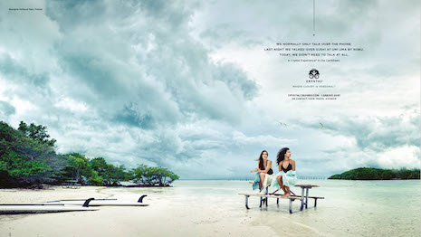 Crystal Cruise brand campaign