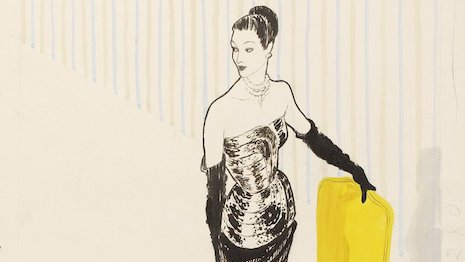 René Gruau fashion illustration