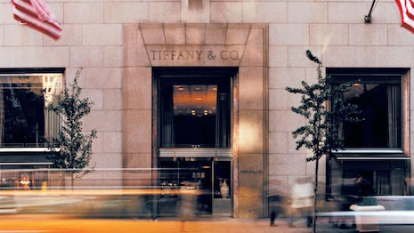 Facade of Tiffany & Co.'s iconic flagship New York store on Fifth Avenue. Image credit: Tiffany & Co.